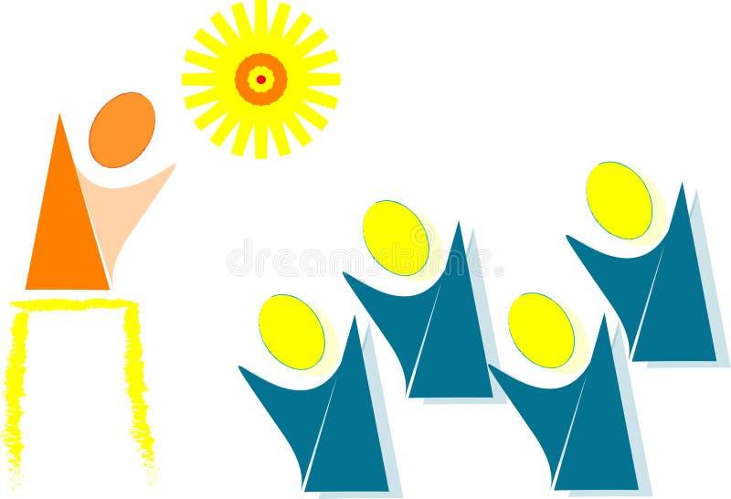Download ευτυχές φως κινούμενων &sigma Διανυσματική απεικόνιση - εικονογραφία από κλίμα, πορτοκάλι: 17059876