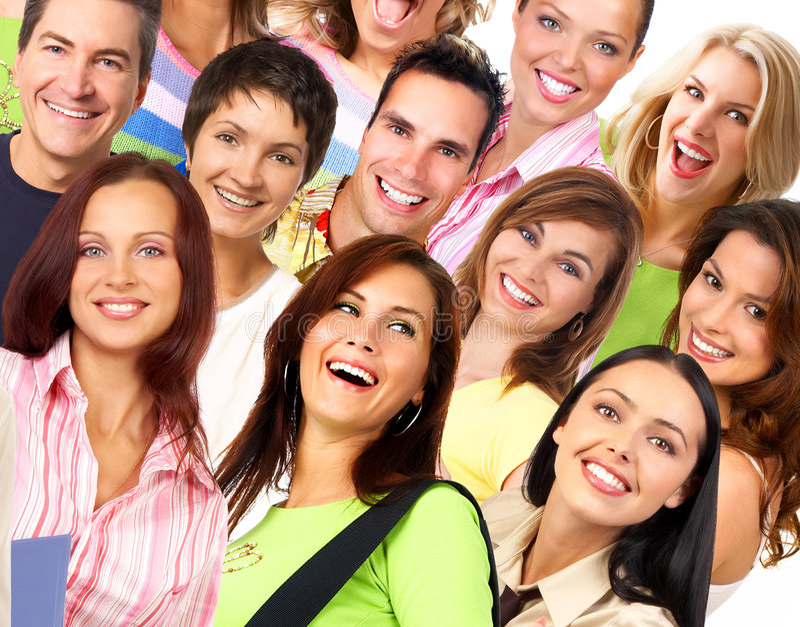 ευτυχές χαμόγελο ανθρώπ&ome στοκ φωτογραφία με δικαίωμα ελεύθερης χρήσης