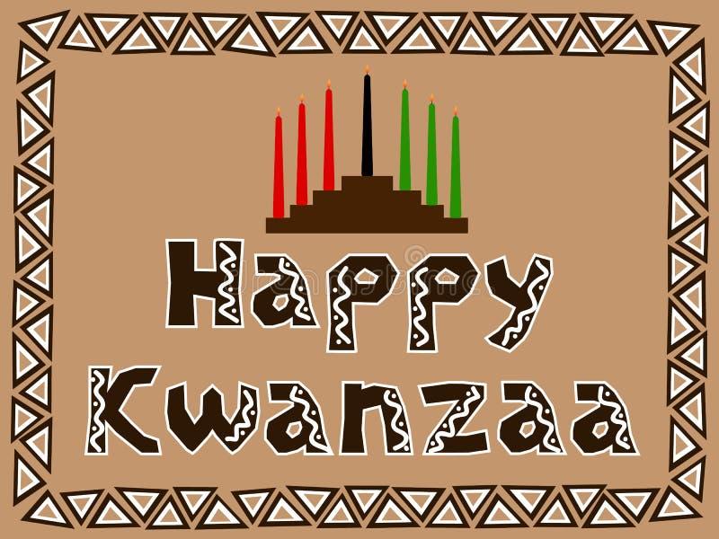 ευτυχές kwanzaa ελεύθερη απεικόνιση δικαιώματος
