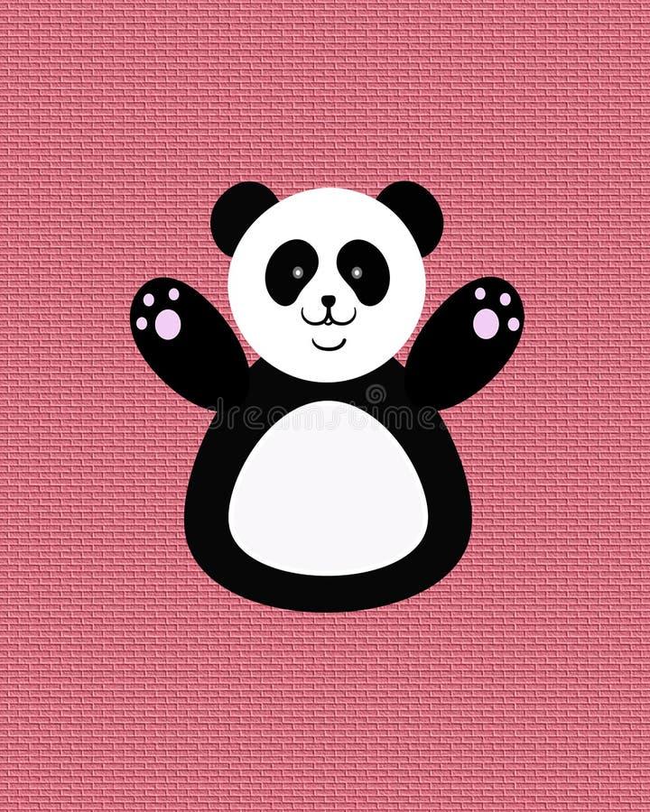 ευτυχές panda στοκ φωτογραφία με δικαίωμα ελεύθερης χρήσης