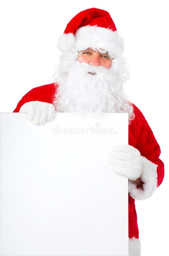 ευτυχές santa Χριστουγέννων στοκ φωτογραφία