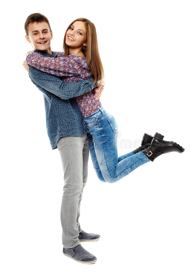 Ευτυχές Teens στοκ εικόνες με δικαίωμα ελεύθερης χρήσης