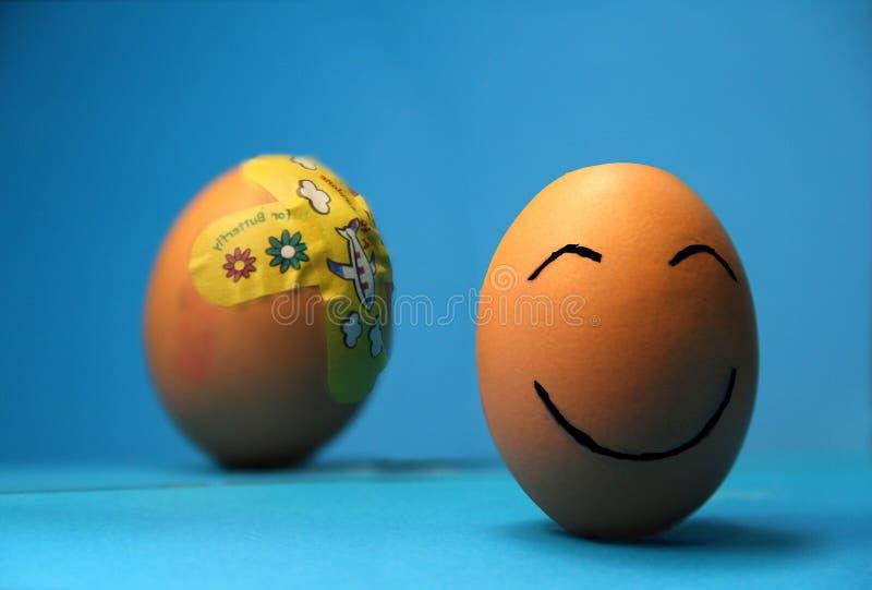 Ευτυχές traumatism ανθεκτικότητας αποκατάστασης βλαμμένο χαμόγελο στοκ φωτογραφίες