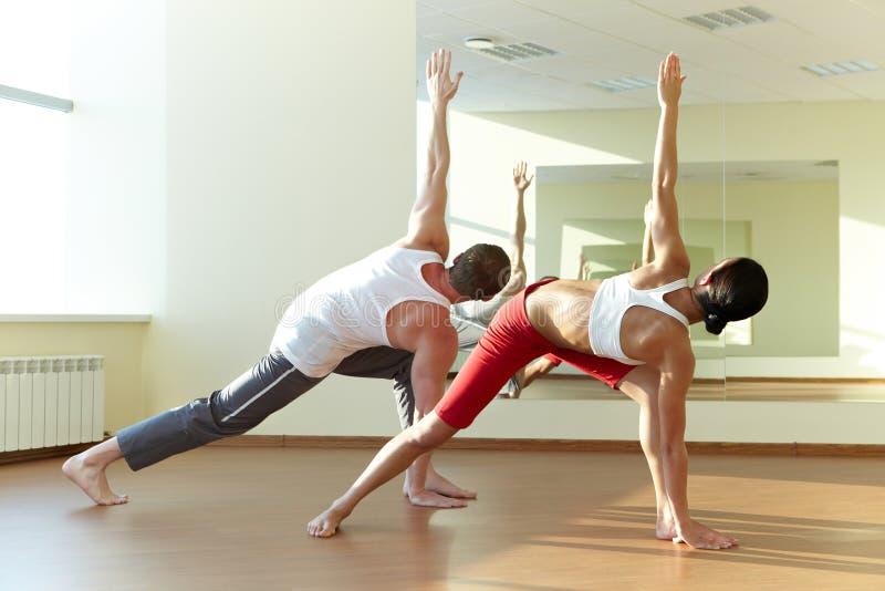 ευτυχές workout στοκ φωτογραφία