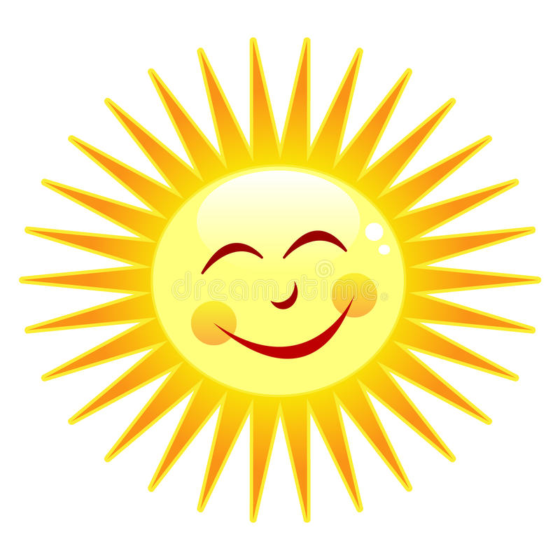 Ευτυχής ήλιος στοκ εικόνες
