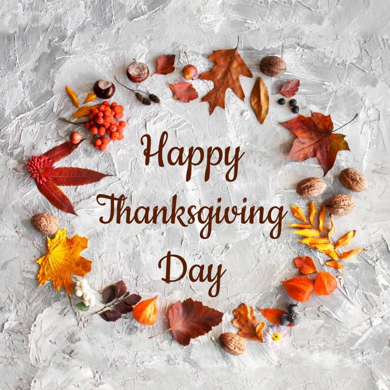 Ευτυχής ανασκόπηση ημέρας των ευχαριστιών στοκ εικόνες