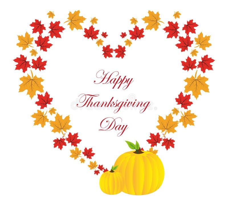 Ευτυχής ανασκόπηση ημέρας των ευχαριστιών απεικόνιση αποθεμάτων