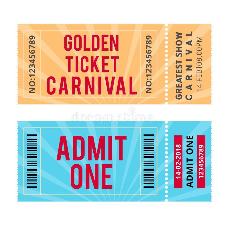 Ευτυχής βραζιλιάνα ημέρα καρναβαλιού καρναβάλι παρουσιάζει εισιτήρια ελεύθερη απεικόνιση δικαιώματος