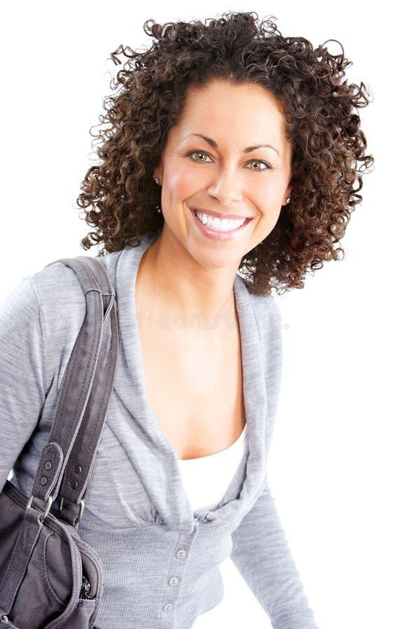 ευτυχής γυναίκα στοκ εικόνα