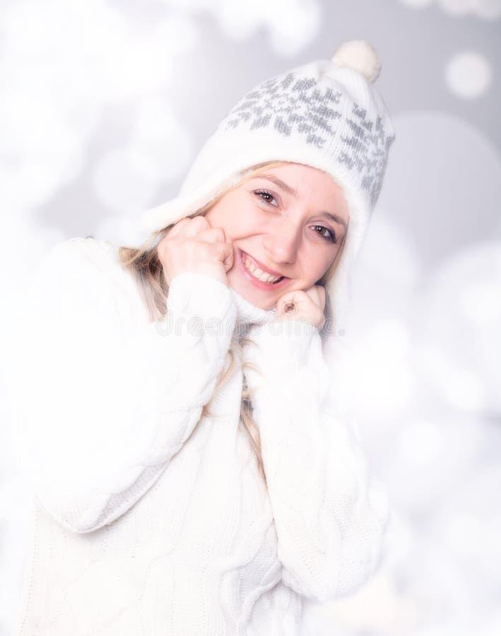 ευτυχής γυναίκα στοκ φωτογραφίες