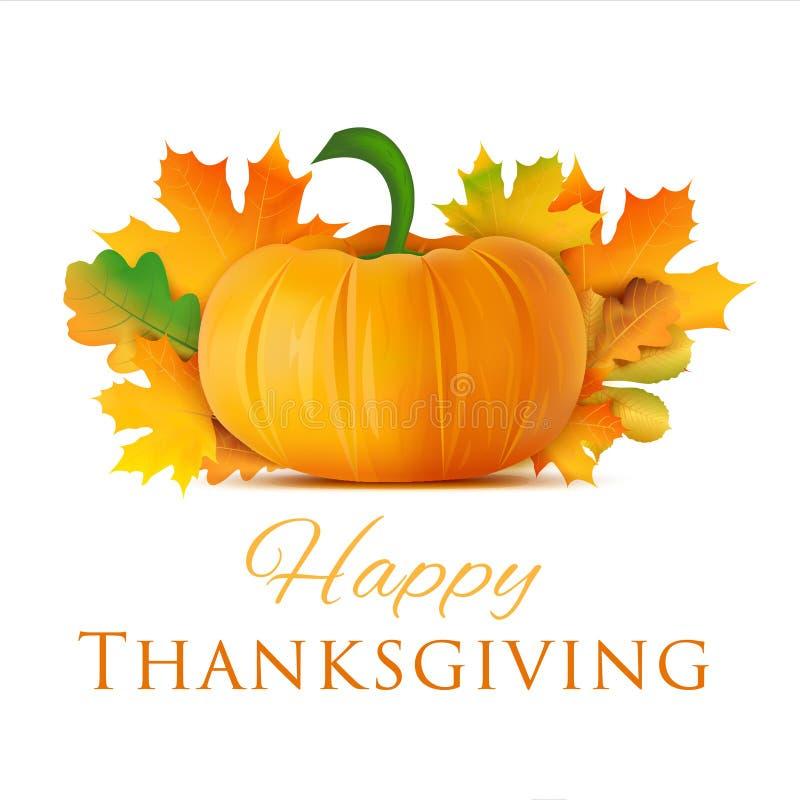 Ευτυχής ευχετήρια κάρτα ημέρας των ευχαριστιών χρυσό διάνυσμα διακοπών χαιρετισμού λουλουδιών καρτών ανασκόπησης απεικόνιση αποθεμάτων