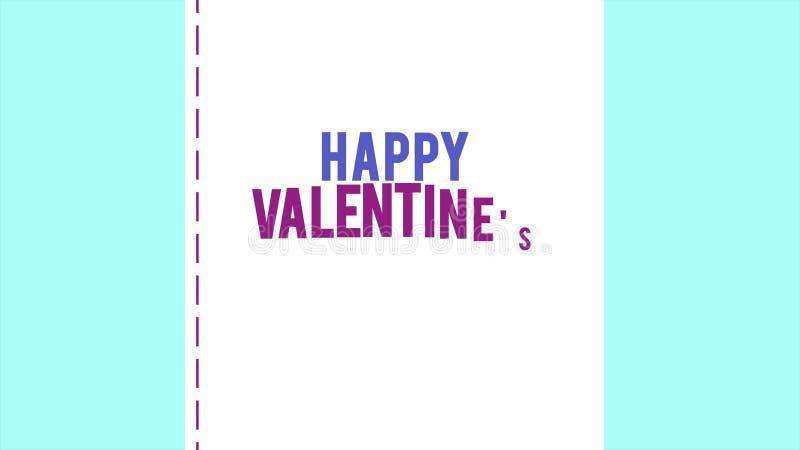 Ευτυχής ημέρα βαλεντίνων με την αγάπη φακέλων και κορδελλών ζωτικότητας στοκ φωτογραφία με δικαίωμα ελεύθερης χρήσης