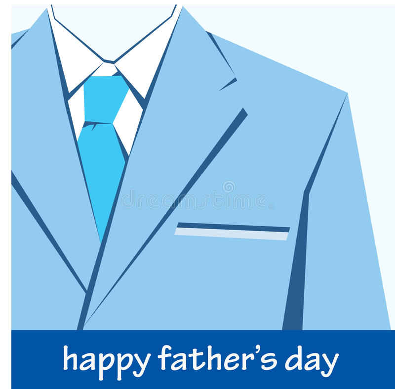 Ευτυχής ημέρα πατέρων ελεύθερη απεικόνιση δικαιώματος