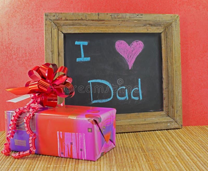 Ευτυχής ημέρα πατέρων στοκ εικόνες με δικαίωμα ελεύθερης χρήσης
