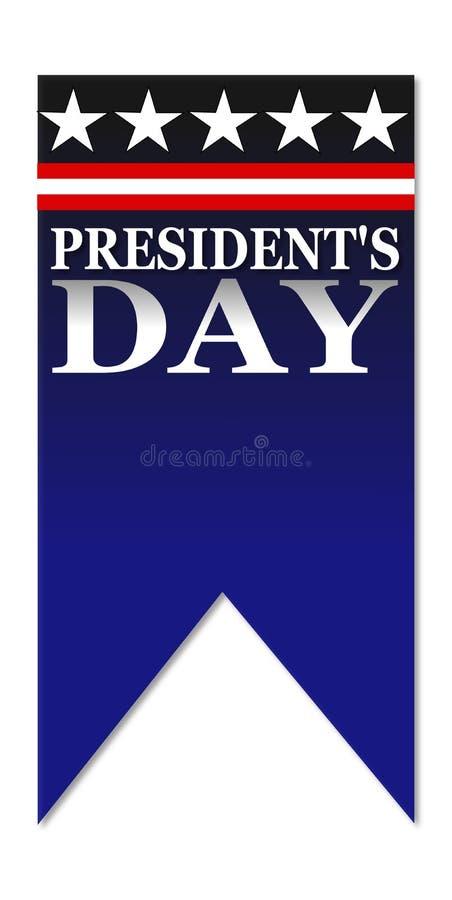 Ευτυχής ημέρα Προέδρων διανυσματική απεικόνιση