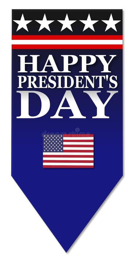 Ευτυχής ημέρα Προέδρων απεικόνιση αποθεμάτων