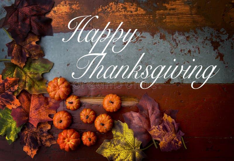 ευτυχής ημέρα των ευχαριστιών στοκ φωτογραφίες