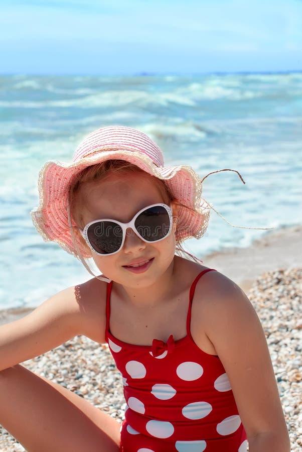 ευτυχής θάλασσα κοριτ&sigm στοκ εικόνες