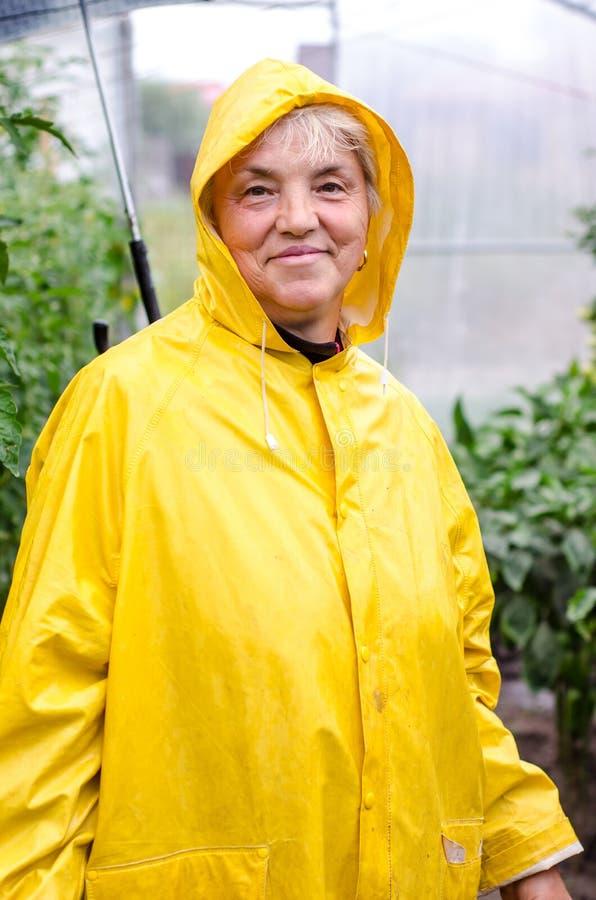 Ευτυχής κηπουρός στοκ φωτογραφίες με δικαίωμα ελεύθερης χρήσης