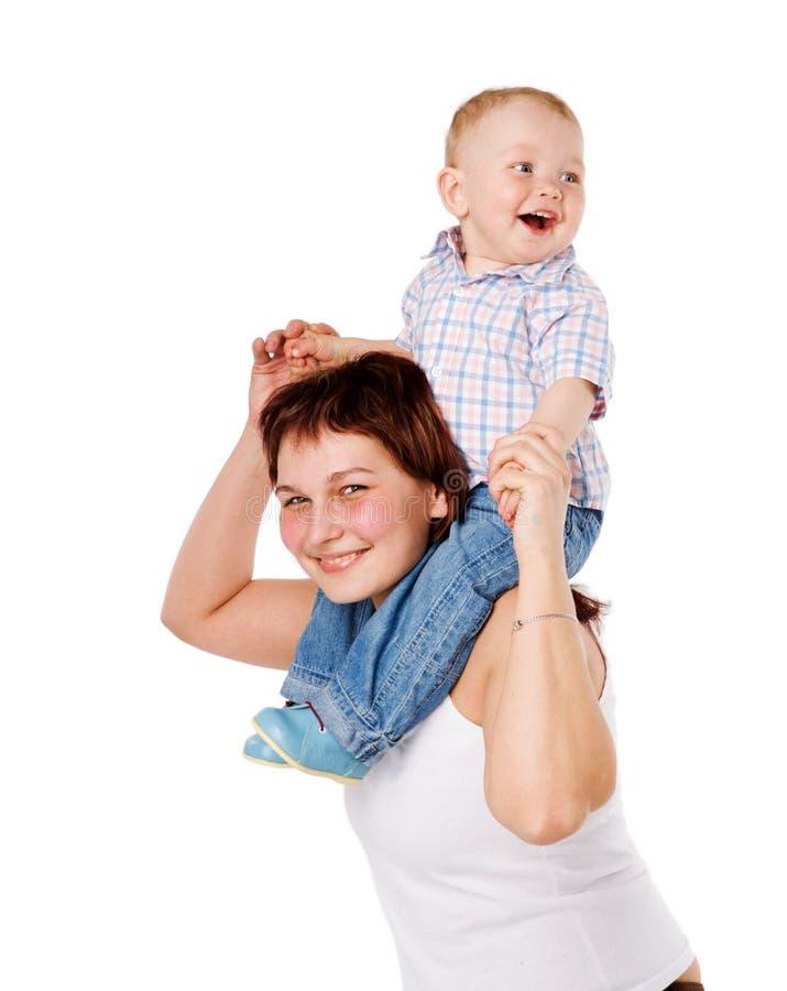 ευτυχής μητέρα στοκ εικόνα με δικαίωμα ελεύθερης χρήσης