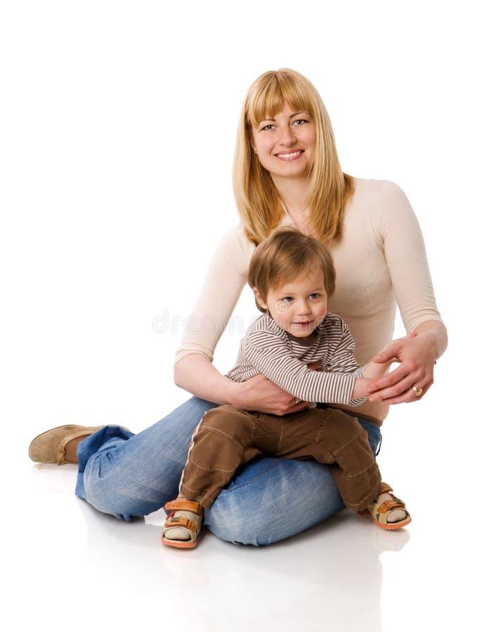 ευτυχής μητέρα στοκ εικόνες