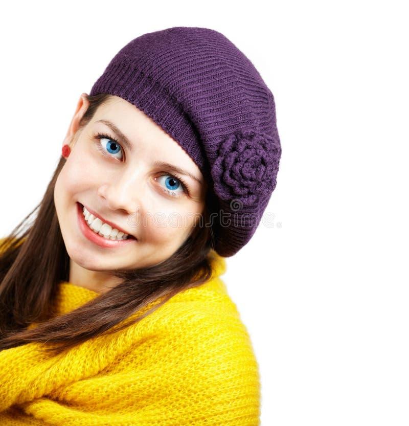 Ευτυχής νέα γυναίκα στοκ εικόνες με δικαίωμα ελεύθερης χρήσης