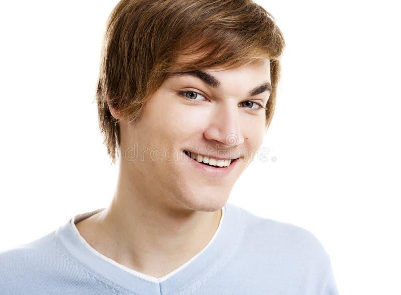 Ευτυχής νεαρός άνδρας στοκ φωτογραφία