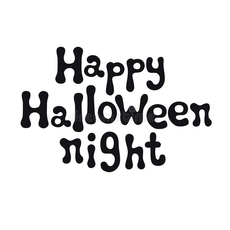 Ευτυχής νύχτα αποκριών μεγάλος φωτεινός Ιστός αραχνών σκιών μυστηρίου σεληνόφωτου φωτοστεφάνου ευελιξιών φλογών ρίψης καλλιεργητι ελεύθερη απεικόνιση δικαιώματος