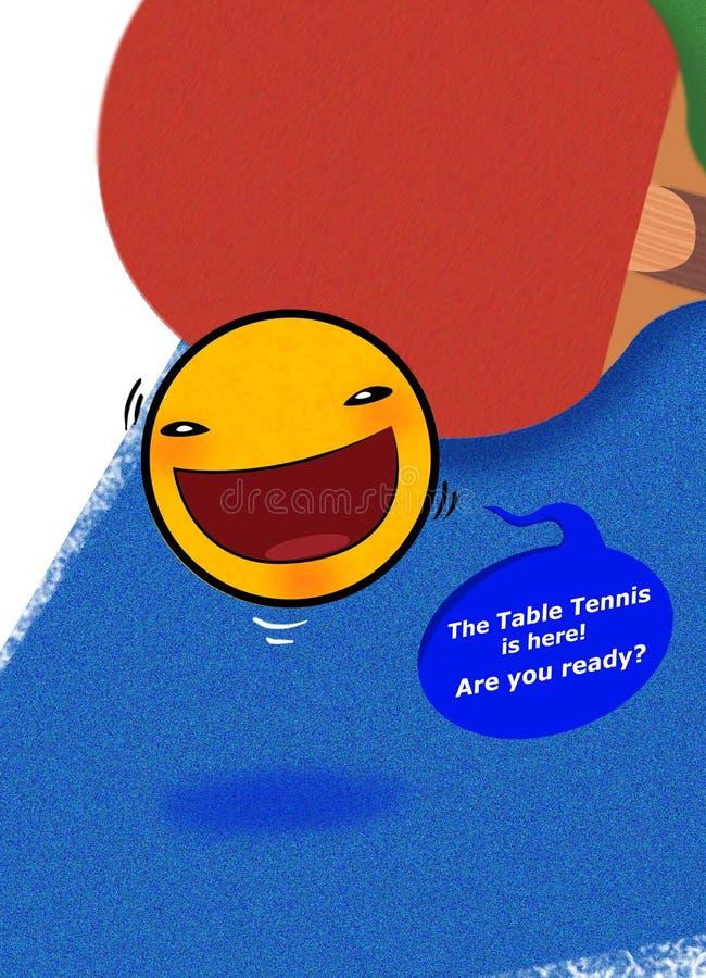 Ευτυχής πίνακας αντισφαίρισης στοκ φωτογραφία με δικαίωμα ελεύθερης χρήσης