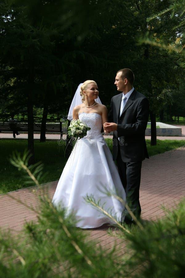 ευτυχής παντρεμένος στοκ φωτογραφία με δικαίωμα ελεύθερης χρήσης