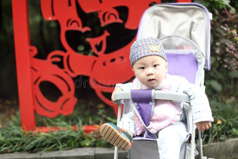 ευτυχής περιπατητής μωρών στοκ εικόνα με δικαίωμα ελεύθερης χρήσης
