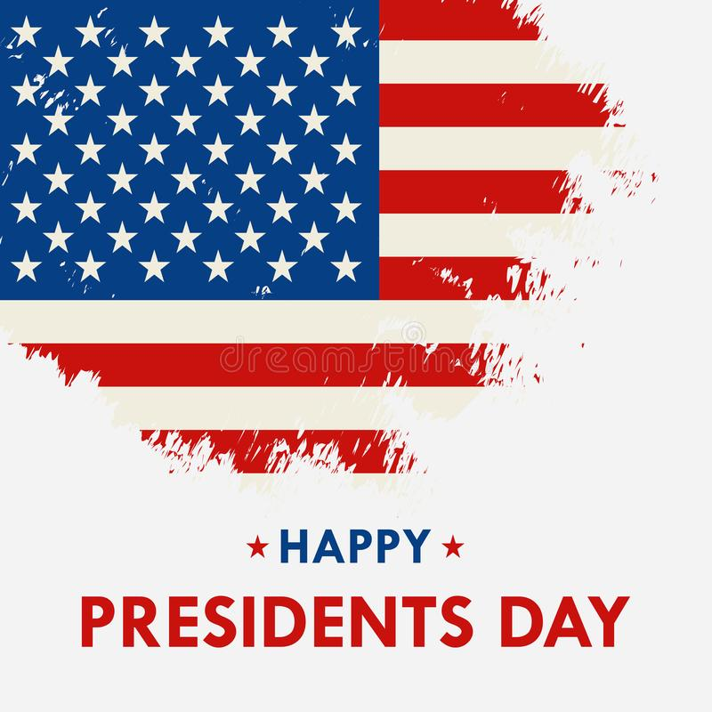 Ευτυχής Προέδρων Day διανυσματική εγγραφή κειμένων απεικόνισης συρμένη χέρι για την ημέρα Προέδρων στις ΗΠΑ script Καλλιγραφικό σ ελεύθερη απεικόνιση δικαιώματος