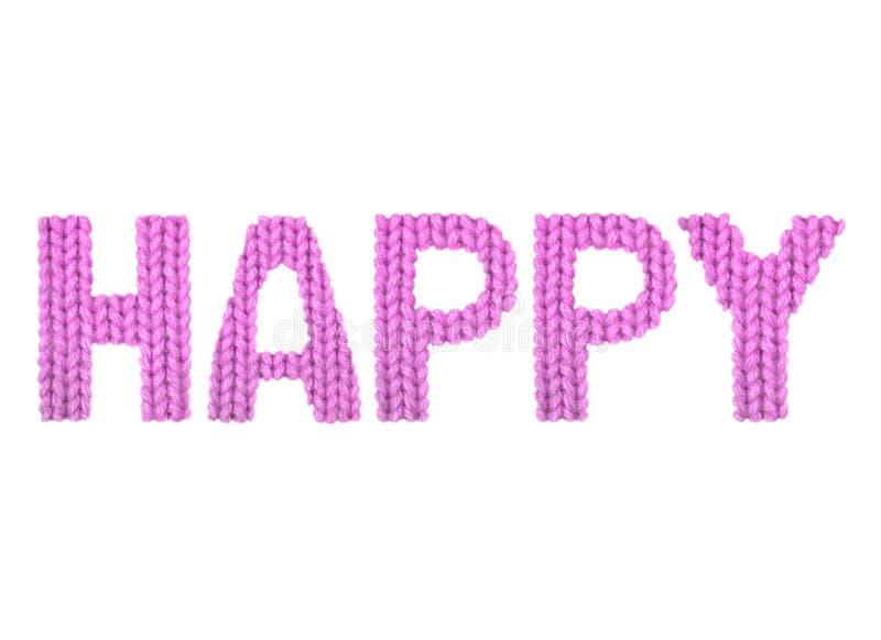 Ευτυχής Ροζ χρώματος στοκ φωτογραφία με δικαίωμα ελεύθερης χρήσης