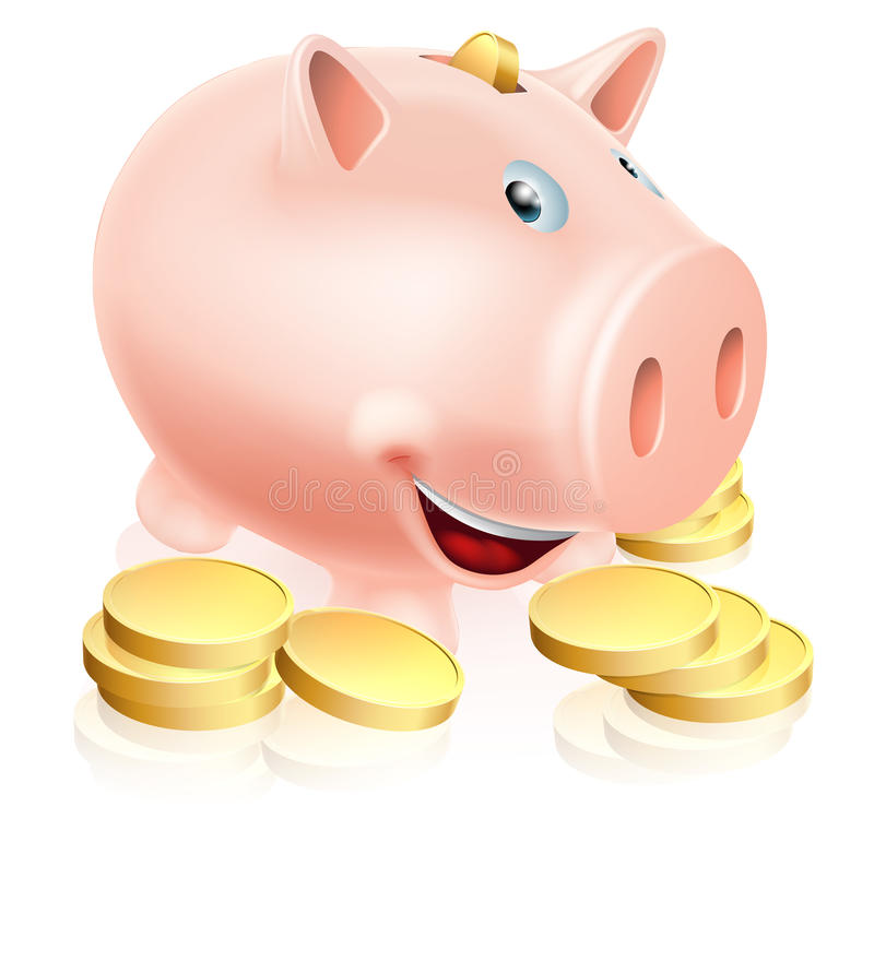 Ευτυχής τράπεζα Piggy
