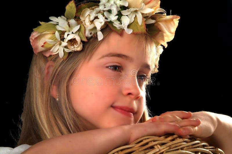 Ευτυχή λατρευτά μικρά κορίτσια στοκ φωτογραφίες