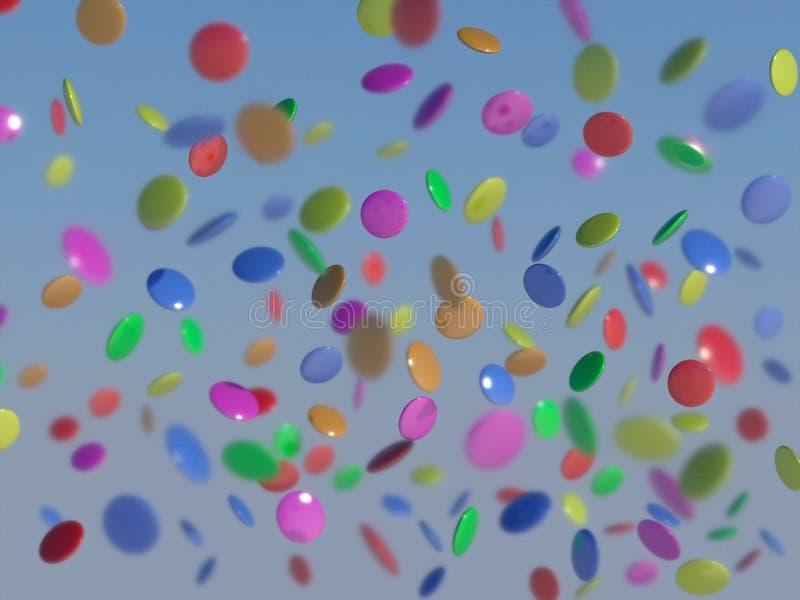 ευτυχή γλυκά συρροής π&omicron ελεύθερη απεικόνιση δικαιώματος