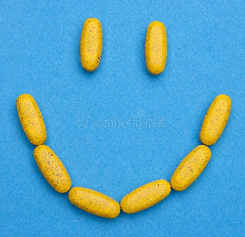 ευτυχή χάπια στοκ εικόνες