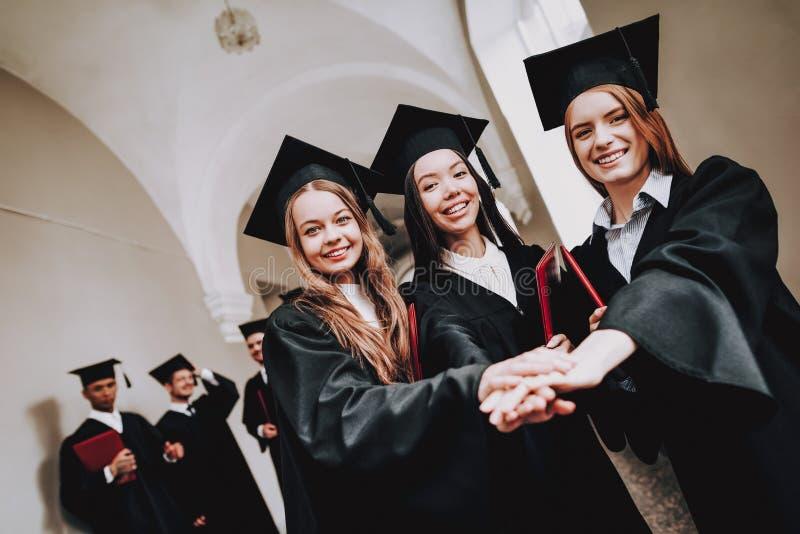 Ευτυχία νοημοσύνη δίπλωμα πανεπιστήμιο στοκ εικόνες