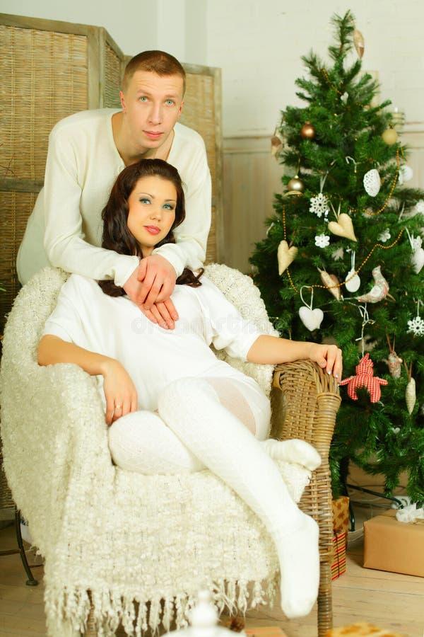 Ευτυχείς ζεύγος, άνδρας και γυναίκα στοκ εικόνα