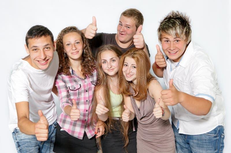 ευτυχείς νεολαίες ανθρώπων στοκ φωτογραφία