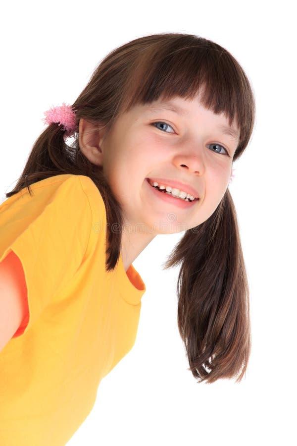ευτυχείς νεολαίες κοριτσιών στοκ φωτογραφία