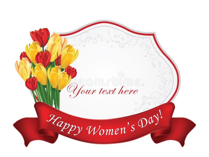 ευτυχείς s γυναίκες ημέρας απεικόνιση αποθεμάτων
