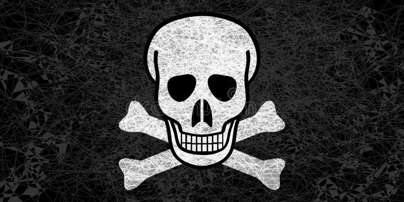 Ευχάριστα σημαία του Ρότζερ στοκ εικόνα με δικαίωμα ελεύθερης χρήσης