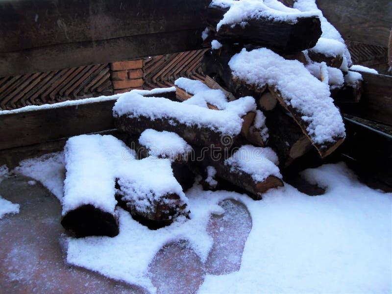 ευχάριστη όψη χιόνι Χειμώνας όμορφο χιόνι στοκ φωτογραφίες με δικαίωμα ελεύθερης χρήσης