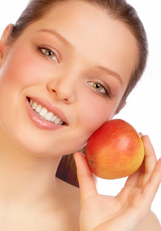 ευχαρίστηση μήλων στοκ φωτογραφία