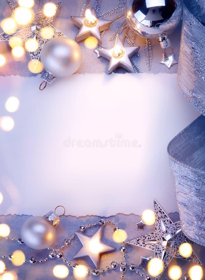 Ευχετήρια κάρτα Χριστουγέννων τέχνης στοκ εικόνες