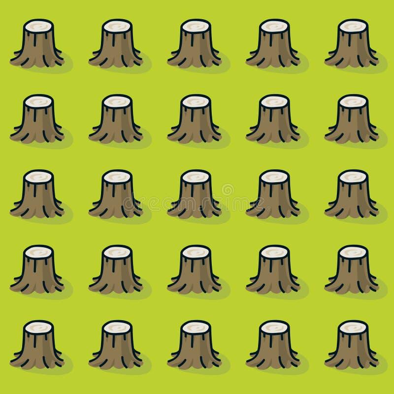 Ευδιάκριτο δάσος ελεύθερη απεικόνιση δικαιώματος