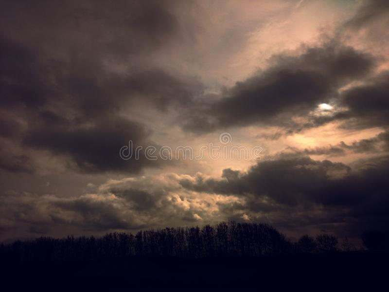 Ευλογία ουρανών στοκ εικόνες