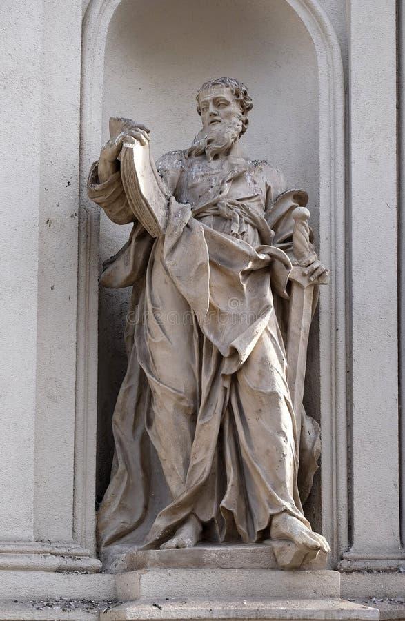 ευλογημένο το απόστολος καθεδρικών ναών christchurch μυστήριο Άγιος Paul γυαλιού νέο λεκίασε τη Ζηλανδία στοκ φωτογραφίες με δικαίωμα ελεύθερης χρήσης