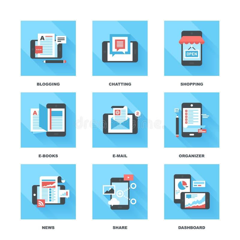 εφαρμογές κινητές ελεύθερη απεικόνιση δικαιώματος